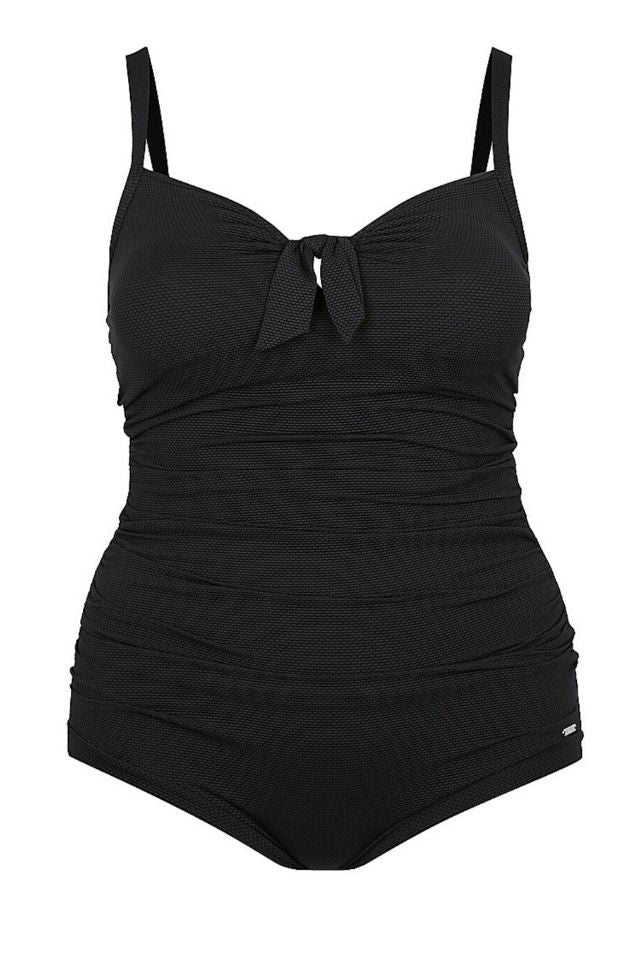 cute black one piece swimsuit