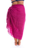 Beach Cover Up Plum Sarongs