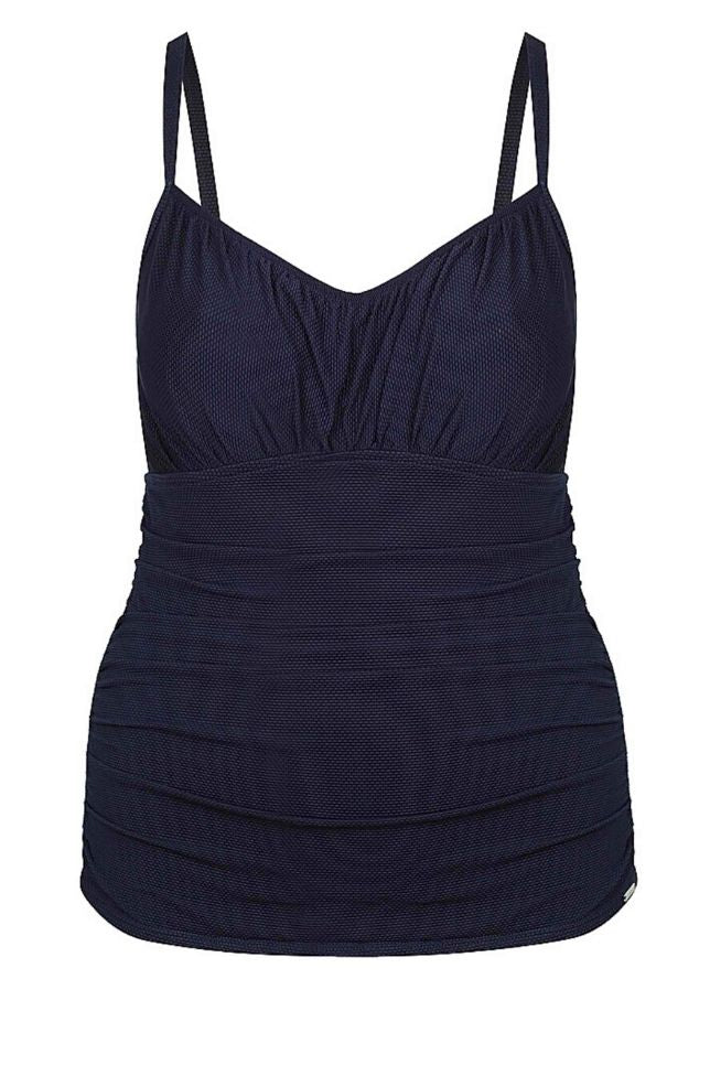 long tankini tops plus size