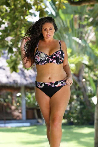 women's plus size 2 piece bathing suits