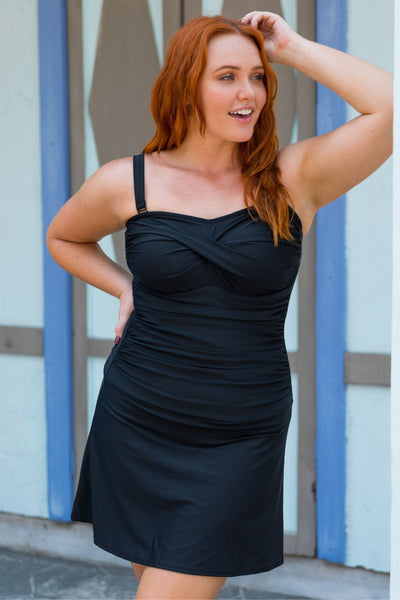 plus size swimwear swimdress
