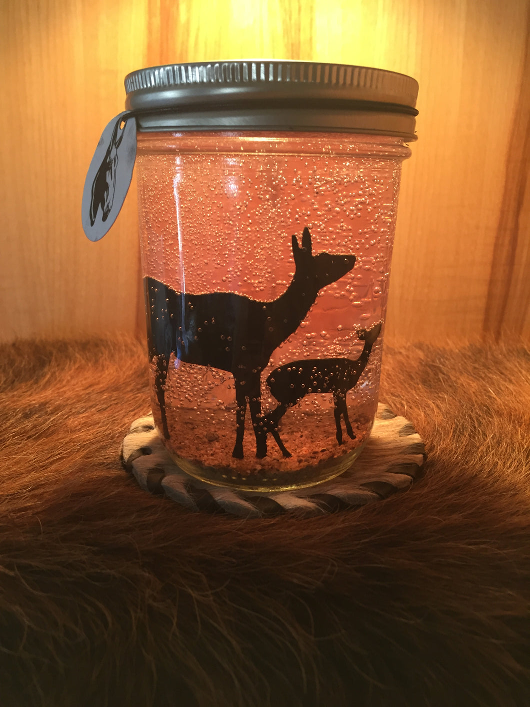 Cow Elk & Baby-16oz