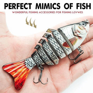 Bionic Swimming lure - Suitable for all kinds of fishing waters (Buy 2 Get 1 Free)
