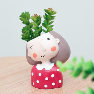 Little People Mini Succulent Planter