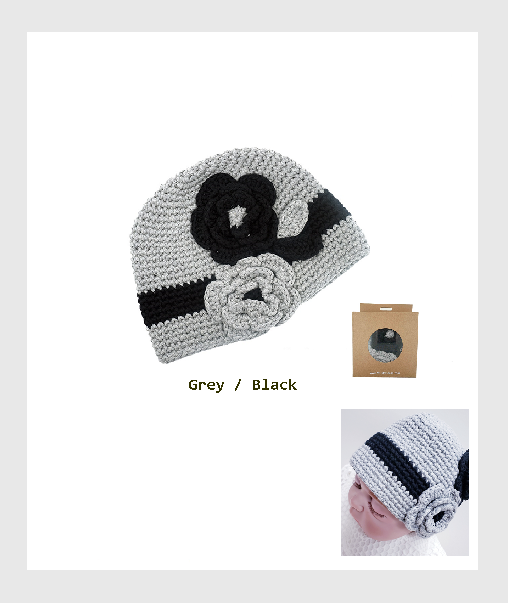 SF6-H001BH - Baby Hat is the perfect accessory for newborn babies to wear and take photos on holidays /嬰兒帽是新生嬰兒在假日佩戴和拍照的完美配件