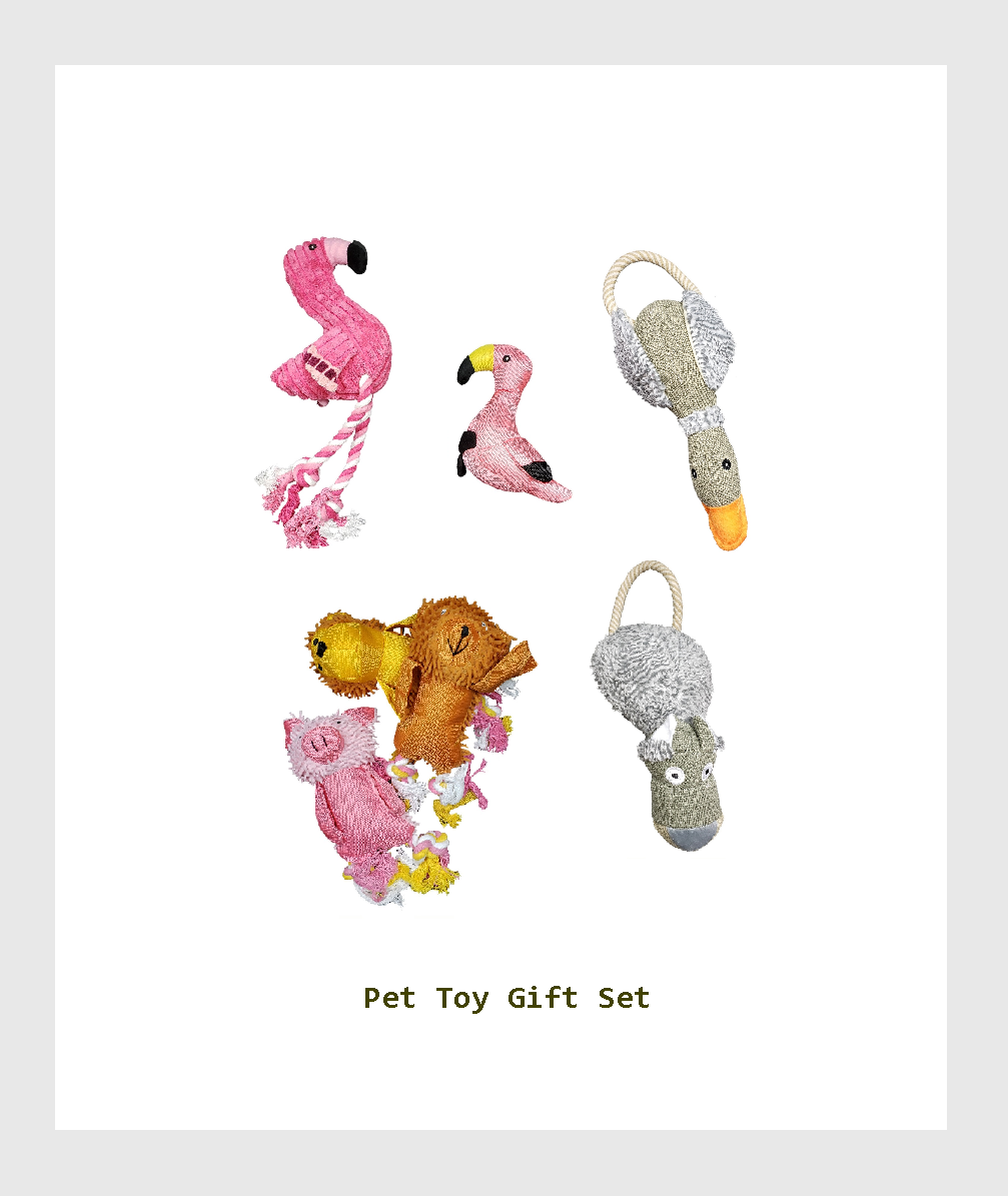 SF5-PP001PT - Squeaky Toys  fit for  Small Medium Large Dog Gift Set/吱吱作響的狗狗玩具.適合小/中/大型犬玩具禮品套裝