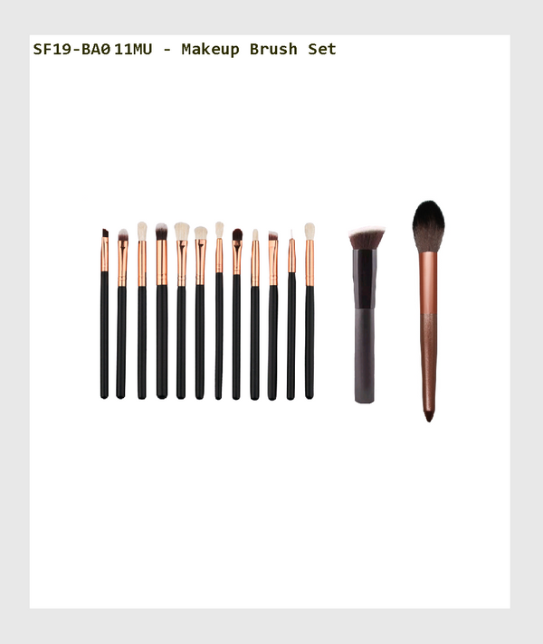 SF19-BA011MU - Makeup Brush Set /化妝刷套裝