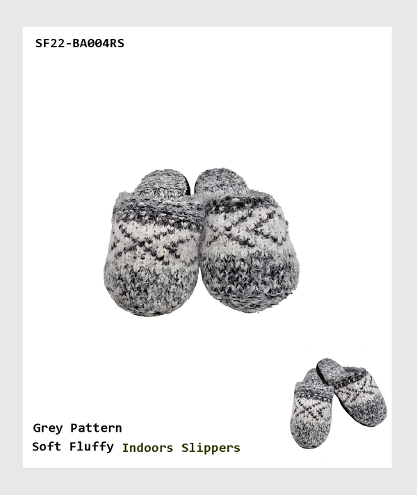 SF22-BA004RS - Super Warm and Soft Fluffy  Indoors Slippers/超級溫暖柔軟的室內蓬鬆拖鞋
