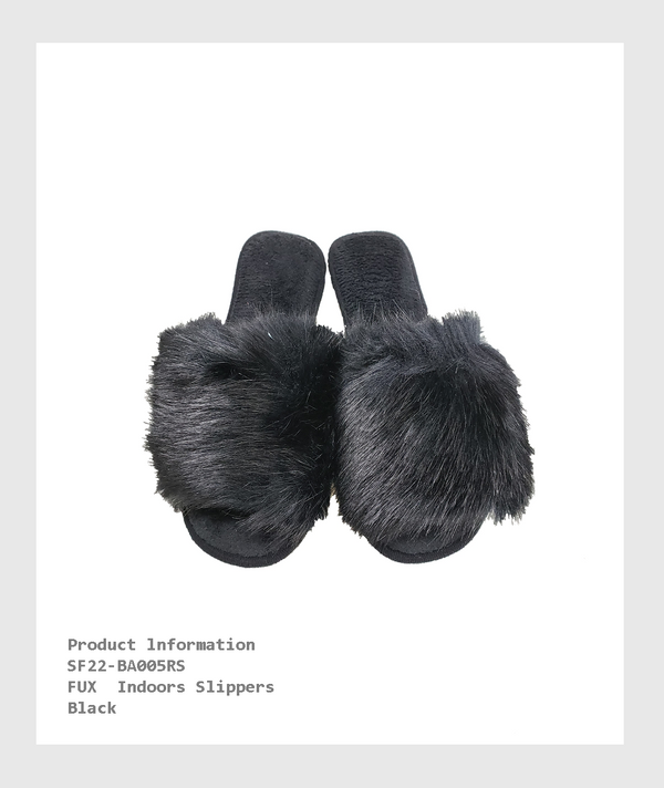 SF22-BA005RS - FUX  Indoors Slippers/ FUX室內拖鞋