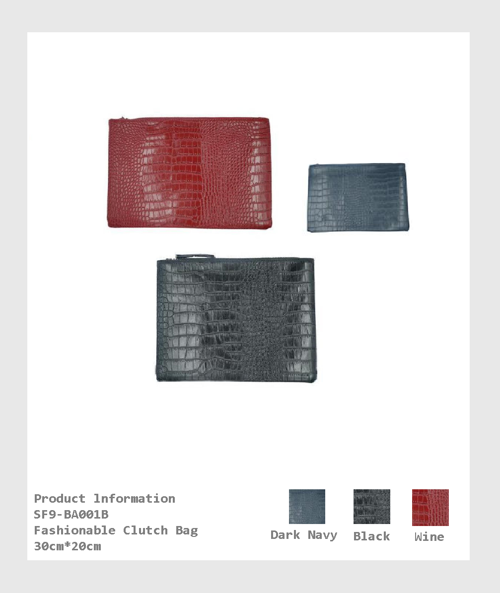 SF9-BA001B - Fashionable Clutch Bag/ 時尚手拿包