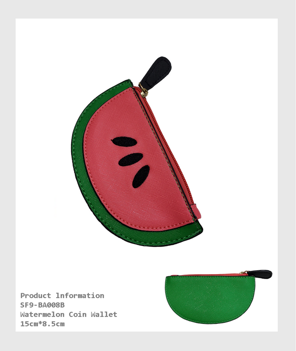 SF9-BA008B - Watermelon Shape Coin Wallet/西瓜形零錢包