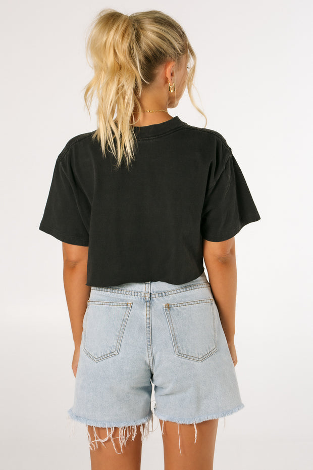 Planet Hollywood New York Crop Tee