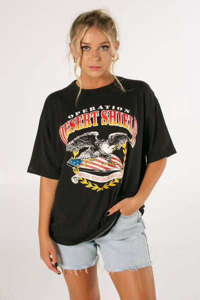 Desert Shield American Eagle Tee