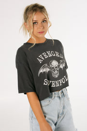 Avenged Sevenfold Band Crop Tee