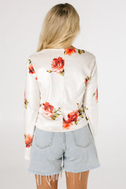 The Naked Rose Tie Top