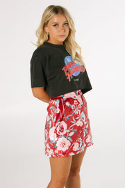 The Raven Mini Skirt