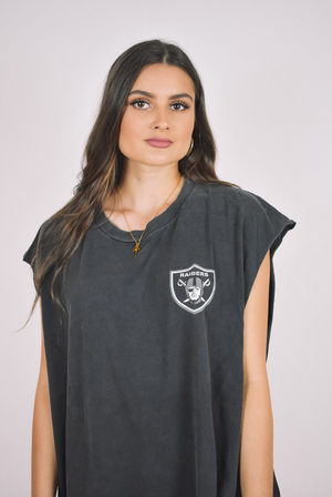 Oakland Raiders Muscle Tee