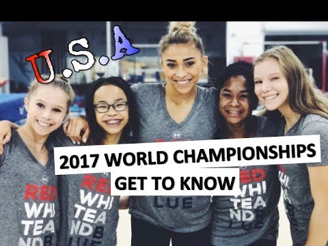 2017 USA Women's Gymnastics Worlds Team