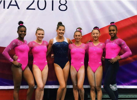 Raegan Rutty at Pan Am Games with the team USA