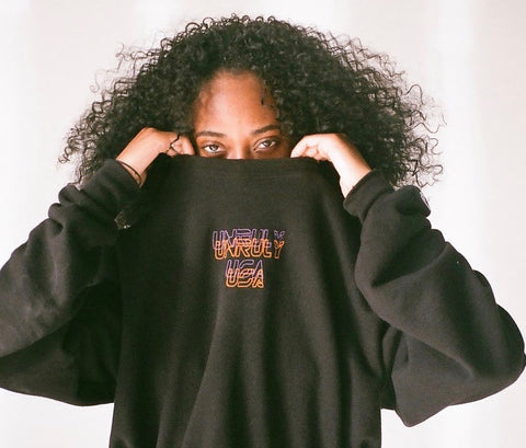 UnrulyUsa Embroidered Sweater
