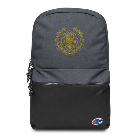 Unruly Logo Embroidered Backpack