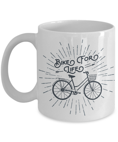 "The ""Bike for Life"" Mug"
