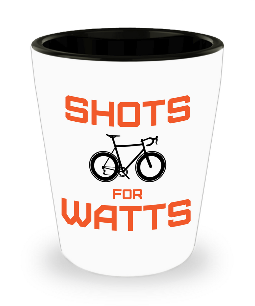 Shots for Watts - Shot Glass - Orange