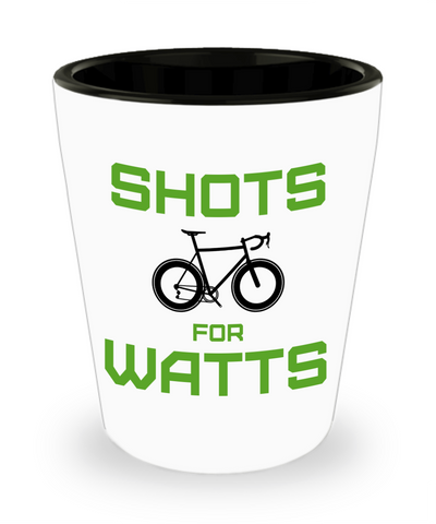 Shots for Watts - Shot Glass - Green