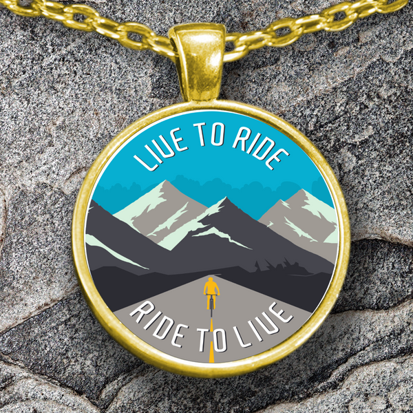 "The ""Live to Ride - Ride to Live"" Necklace"