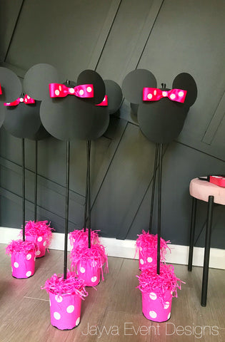 Minnie Mouse Centrepieces