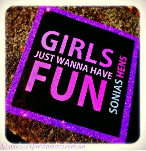 Wanna Have Fun  - Hens Night Invitations