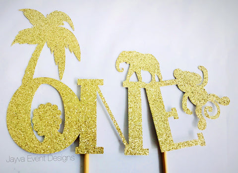 Jungle Safari Cake Topper