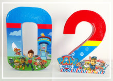 Paw Patrol Decorated Letter
