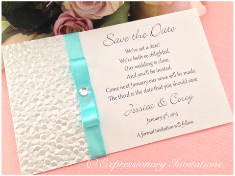 Lindsay Save the Date cards