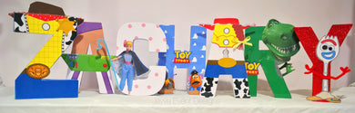 Mini Letters - Toy Story