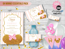 OH MINNIE! Essentials Party Pack