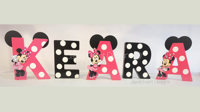 Mini Letters - Minnie Mouse