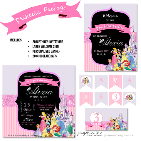 Princess Party Pack