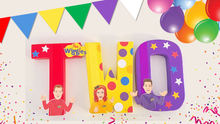 The Wiggles Decorated Age Words