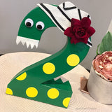 Dorothy the Dinosaur Decorated Letter