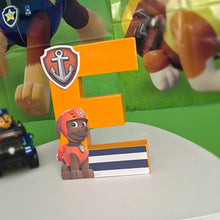 Paw Patrol Theme Decorated Letter - Zuma