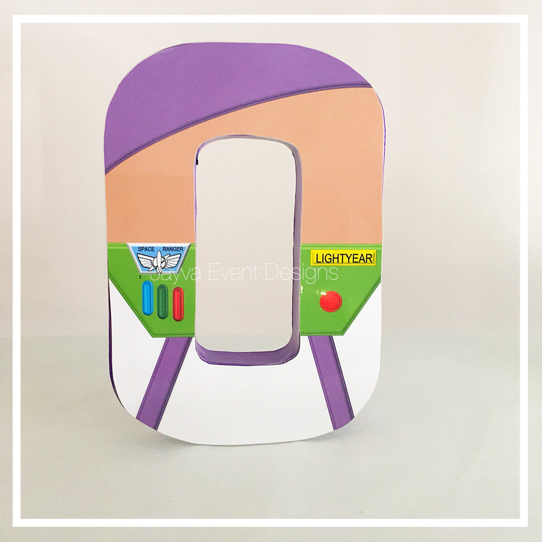 Buzz Lightyear - Toy Story Decorated Letter