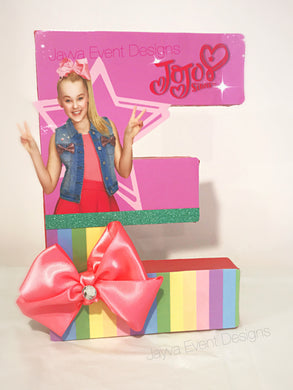 JoJo Siwa Theme Decorated Letter