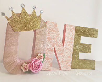 Chic Princess Decorated Age Words