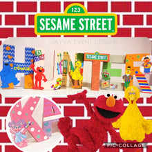 Sesame Street Decorated Names