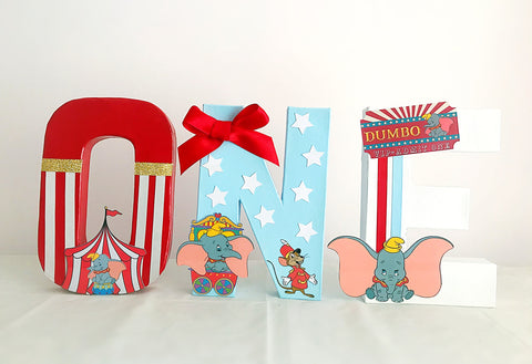 DUMBO Decorated Age Words