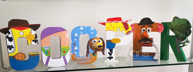 Toy Story Decorated Names