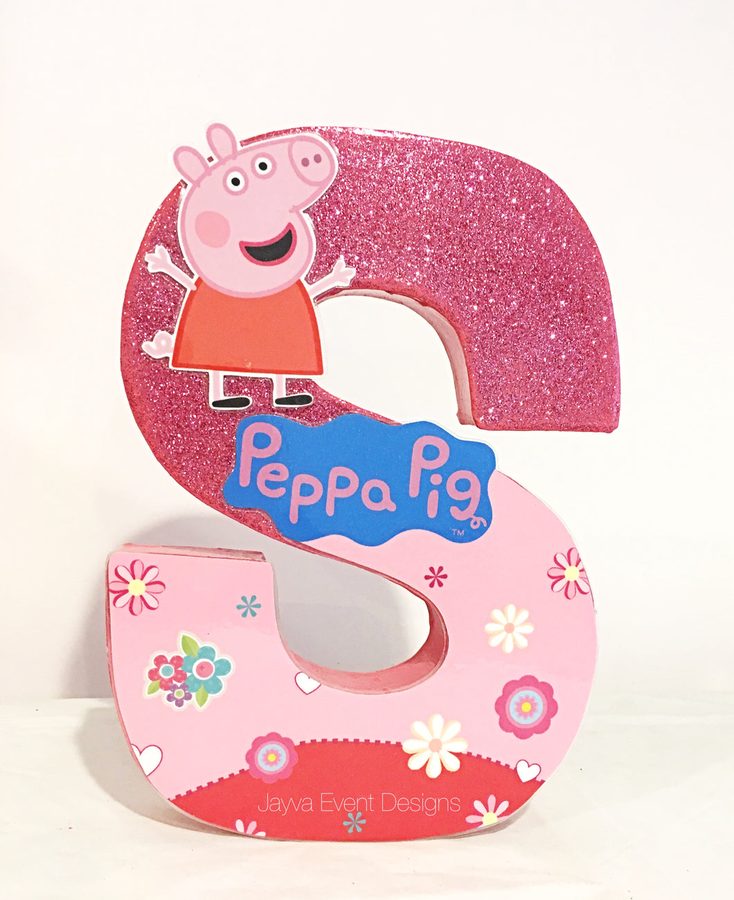Peppa Pig Decorated Letter