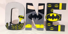 Batman Theme Decorated Age Words