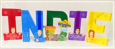 The Wiggles Decorated Names